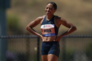 allyson felix, tokyo 2021, track and field