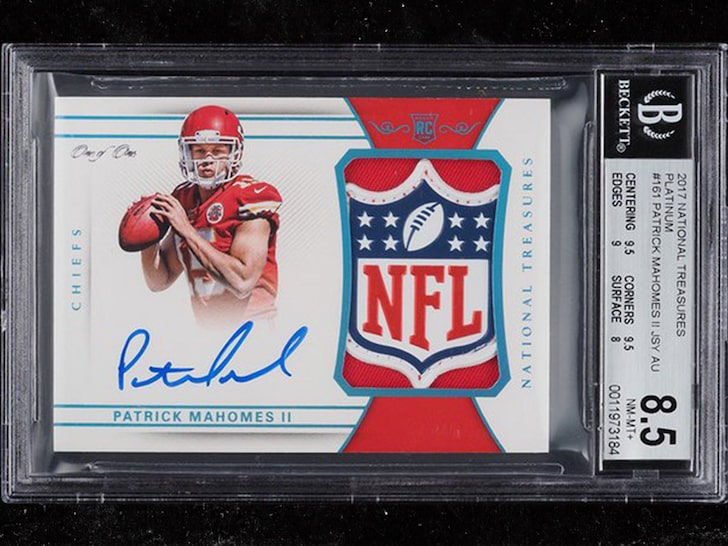 Patrick Mahomes Rookie Card Sells For Record Price