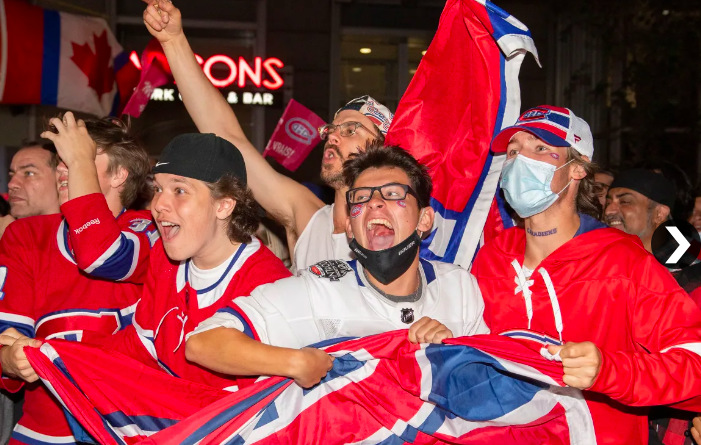 habs excited as montreal wins in overtime to avoid sweep from tampa bay
