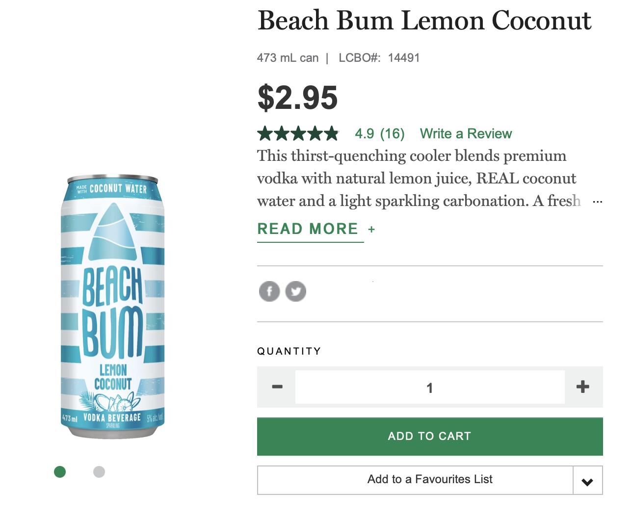 beach bum, lcbo, summer
