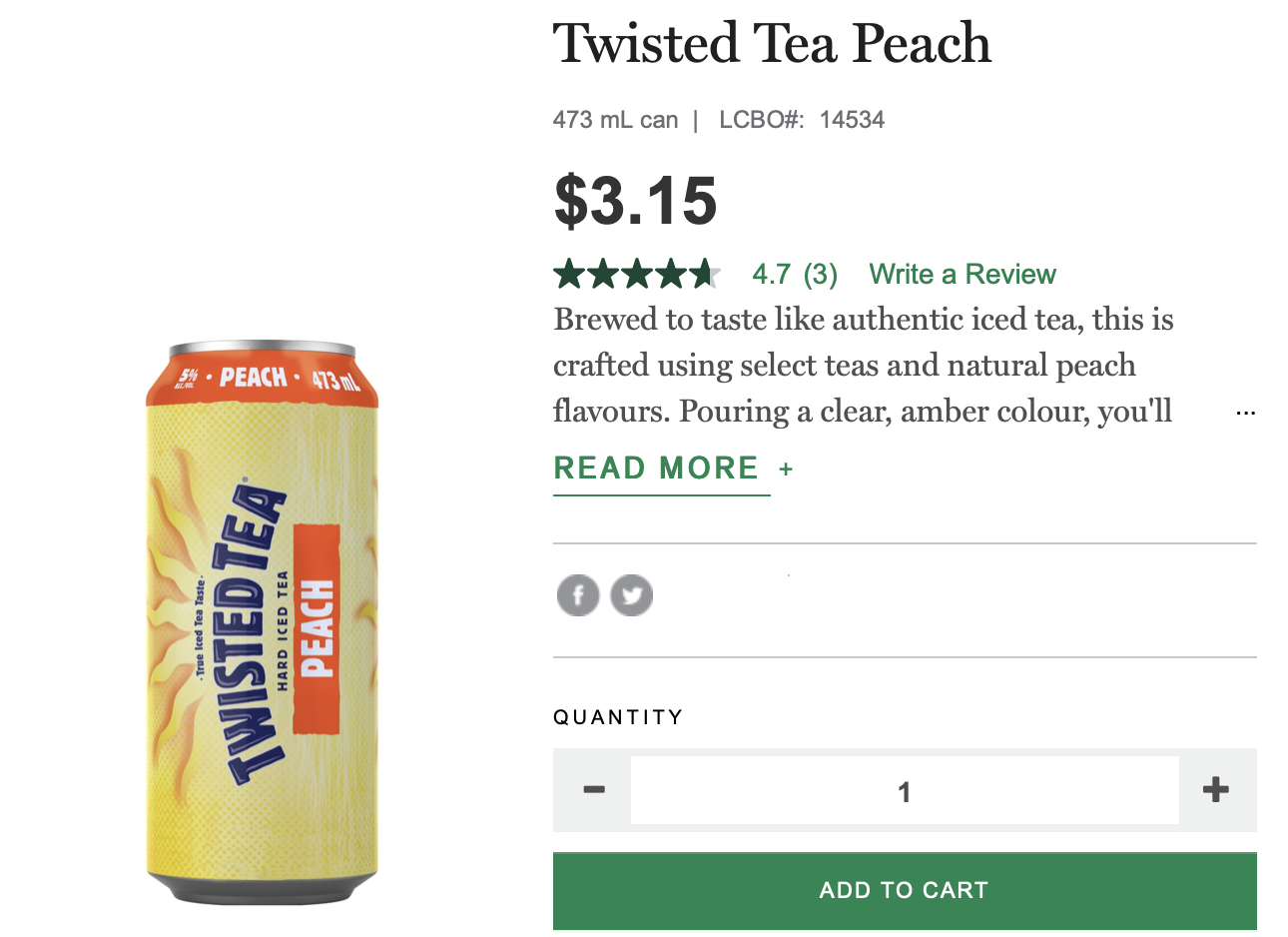 twisted tea, lcbo, summer