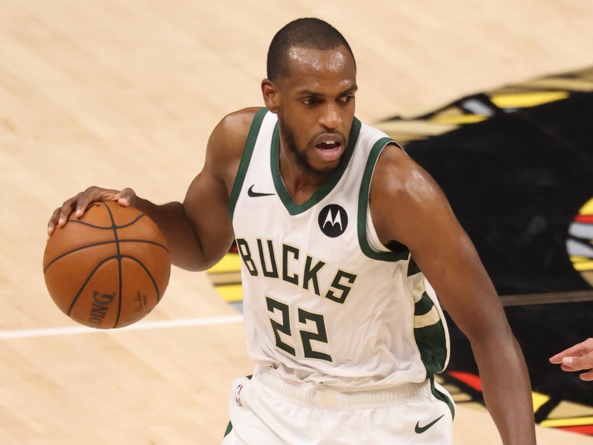 Khris Middleton, NBA finals, basketball