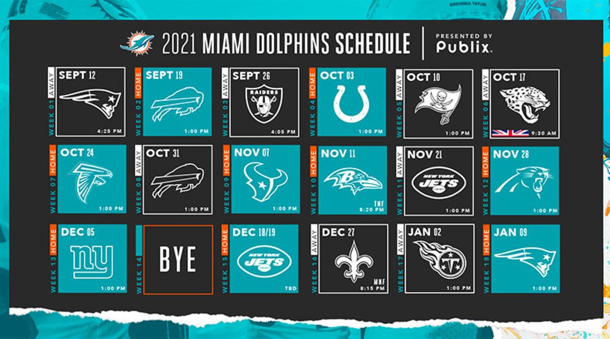 Miami Dolphins 2021 Season Preview