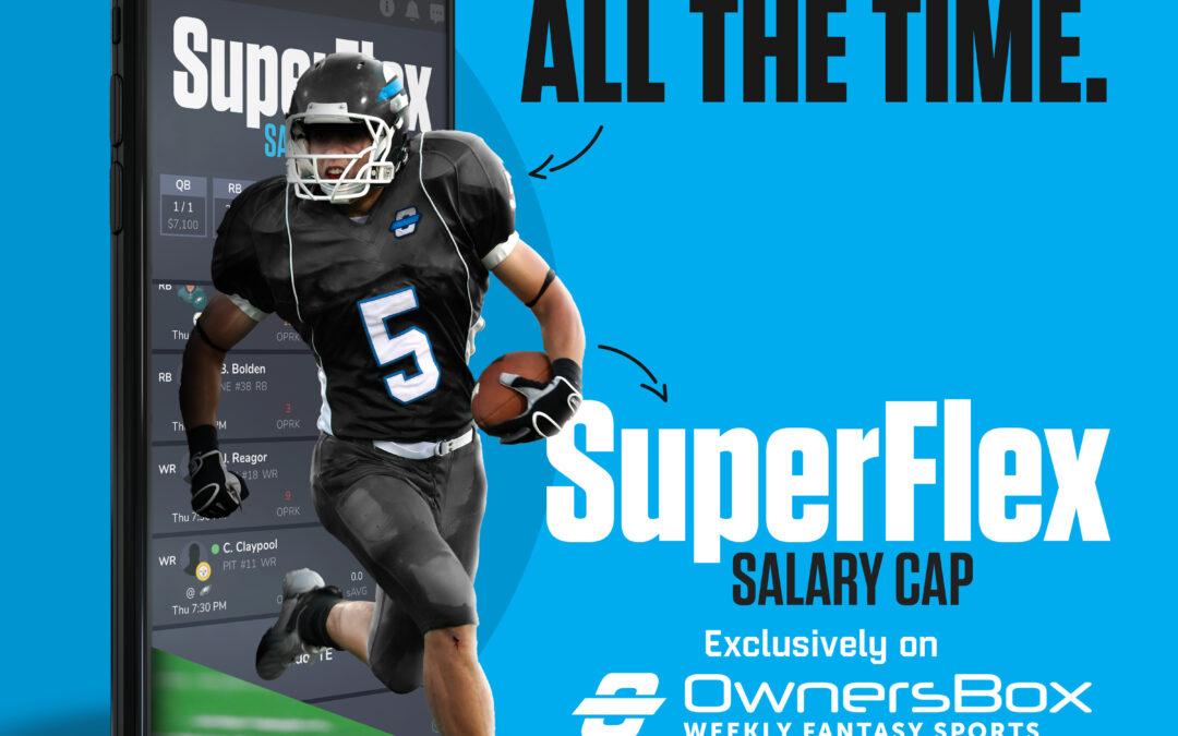 OwnersBox NEW NFL Weekly SuperFlex Format