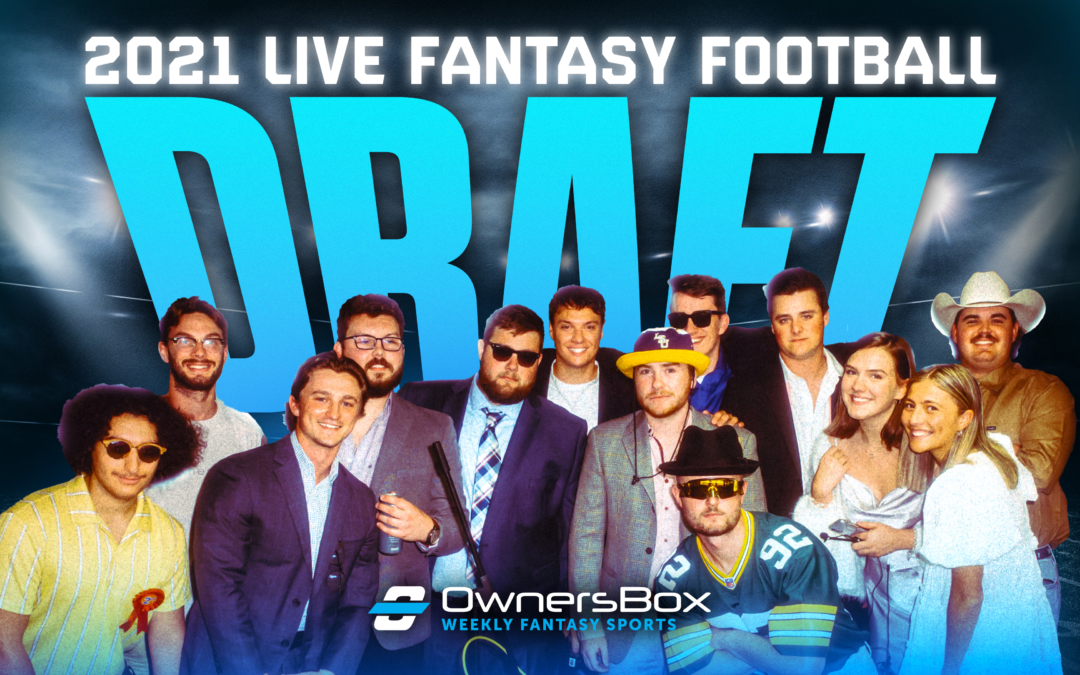 Video: 2021 OwnersBox Fantasy Football LIVE Draft