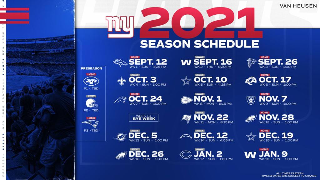 New York Giants 2021 Season Preview